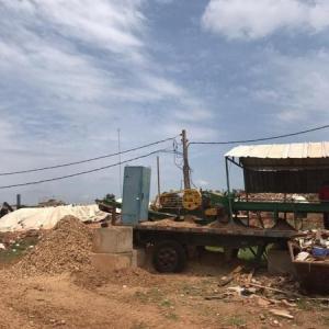 Projeto usina de reciclagem de entulho da construção civil