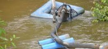 Outorga para captação de água superficial